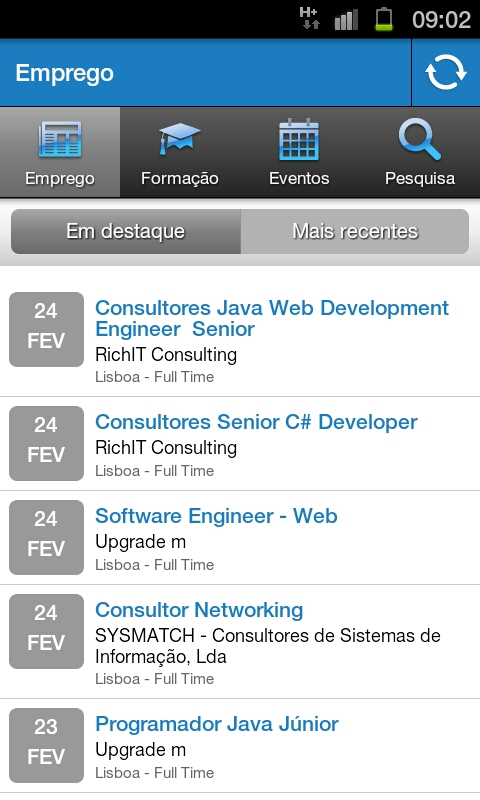 ITJobs Android Screenshot